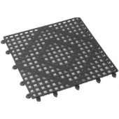 Bar Mat, Black 12x12 Interlocking