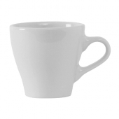 Tuxton - DuraTux Europa Cup for Cappuccino and Espresso, 3 oz Porcelain White
