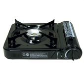 Butane Stove Cooker, 13x3x10, Automatic Shut-Off and Carrying Case