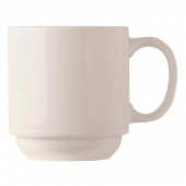 World Tableware - Basics Stacking Mug, 11.5 oz Bright White