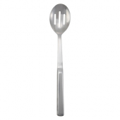 "Winco - Slotted Serving Spoon, 11.75"" Stainless Steel with Hollow Handle"