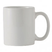 Tuxton - DuraTux C-Handle Mug, 12 oz White