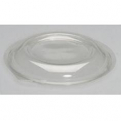 Genpak - Lid, Clear Plastic Dome Lid, Round, Fits 48 and 64 oz Bowl, 1.13 height