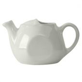 Tuxton - DuraTux Tea Pot without Lid, 16 oz White, 6.375x3.75