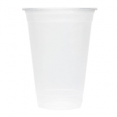 Karat - Cold Cup with U-Rim, 16 oz PP Plastic