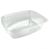Dart - Container, 12 oz Clear Plastic, Rectangle, 6x5x2