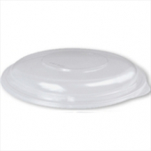 Dart - Lid, Clear Plastic (PresentaBowls) Dome, Round, Fits 8-16 oz Containers
