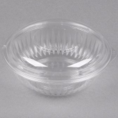 Dart - Bowl, Clear Plastic (PresentaBowls) with Dome Lid, 24 oz Round