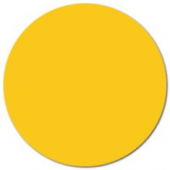 "Label, .75"" Yellow Circle"