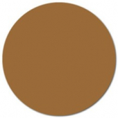 "Label, .75"" Brown Circle"