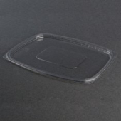 Dart - Lid, ClearPac Plastic Deli Lid, Clear Plastic, Rectangle, Fits 48-64 oz Containers