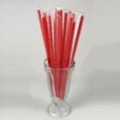 "Karat - Paper Wrapped Straw, 9"" Giant Red"