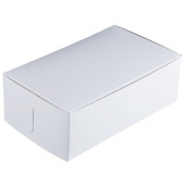 Cake/Bakery Box, 10x7x3.25, White