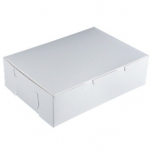 Cake/Bakery Box, 14x10x4 (1/4 sheet), White