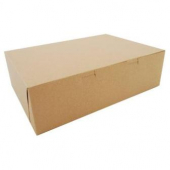 Cake/Bakery Box, 14x10x4 (1/4 sheet), Kraft