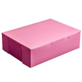 Cake/Bakery Box, 14x10x4 (1/4 sheet), Pink