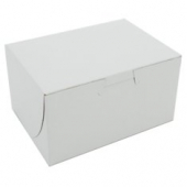 Cake/Bakery Box, Non-Window Tuck Top (1 Piece), White, 5.5x4x3