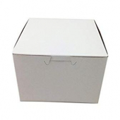 Cake/Bakery Box, 5.5x5.5x4 White