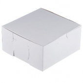 Cake/Bakery Box, 6.5x6.5x3, White