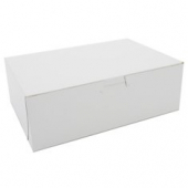Cake/Bakery Box, Non-Window Tuck Top (1 Piece), White, 9x6x3