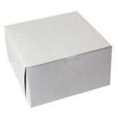 Cake/Bakery Box, 9x9x5, White