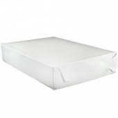 Cake/Bakery Box, 26.5x19x4 (full sheet), White