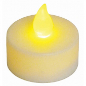 Winco - Rechargeable Tealight Replacement, 1.5x1.5, Lasts over 60 Hours