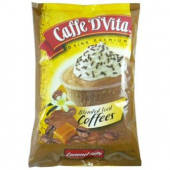 Caffe D'Vita - Caramel Latte Blended Ice Coffee