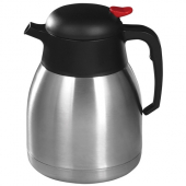 Winco - Carafe, 1.2 Liter Stainless Steel Lined Insulated