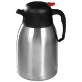 Winco - Carafe, 2.0 Liter Stainless Steel Lined Insulated