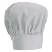 "Winco - Chef Hat, Black, 13"" Height with Velcro Closure"