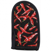 Winco - Handle Holder, Chili Pepper Design Cotton