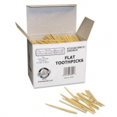 "Toothpick, 2.5"" Flat Natural Wood"