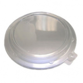 "D&W Finepack - Low Dome Lid, Clear, Fits 16 and 20 oz Rim Bowl/8"" Plate"