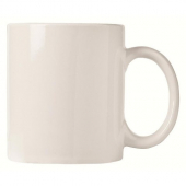 World Tableware  Ultima Mug, 12 oz White Porcelain