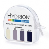 Hydrion Chlorine Test Paper Roll