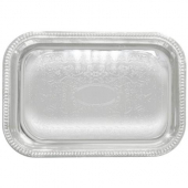 Winco - Serving Tray, 20x14 Rectangular Chrome-Plated