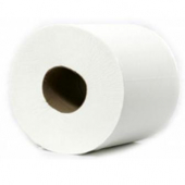 Platinum II Center Pull Hard Wound Towel, 1-Ply White, 6/600'