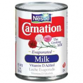 Nestle - Carnation Evaporated Milk Can, 24/12