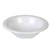 "Salad Bowl, 4.75"" White Melamine, 4 oz"