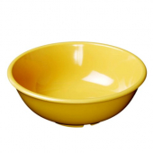 "Salad Bowl, 7.5"" Yellow Melamine, 32 oz"