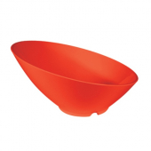 Cascading Bowl, 24 oz Pure Red Melamine