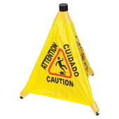 Winco - Caution Sign Pop-Up Safety Cone