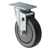 "Winco - Casters, Universal 2.375x3.625 Plate, 5"" Wheel, 2 Piece Set"