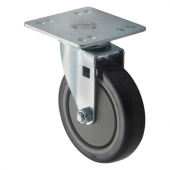 "Winco - Casters, Universal 4x4 Plate, 5"" Wheel, 2 Piece Set"