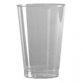 WNA Tall Tumbler, 10 oz Clear Plastic