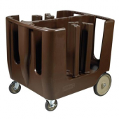 Winco - Dish Caddy with 6 Dividers and Vinyl Cover, 36.5x58.5x31.5
