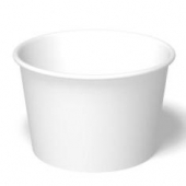 International Paper - Food Container, 12 oz, White