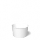 International Paper - Food Container, 8 oz, White