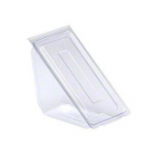DeliView - Sandwich Container Wedge, Hinged 7x4x4